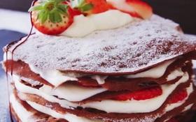 Không giỏi nấu nướng vẫn tự làm được ổ bánh crepe dâu tây cực ngon và đẹp