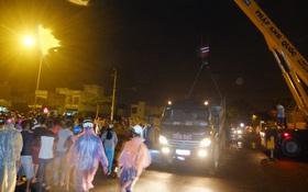 Đà Nẵng: Va chạm kinh hoàng trong đêm, 2 thanh niên chết thảm dưới gầm xe tải