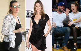 2 tháng sau khi sinh con, vợ Adam Levine đã thon thả và xinh đẹp rạng ngời