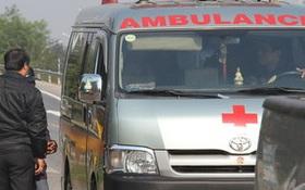 Xe cấp cứu bắt khách vào Sài Gòn giá 600.000 đồng/người