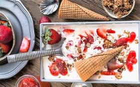 Thử ngay kem lạnh vị cheesecake dâu vừa lạ vừa quen