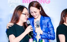 Bảo Anh rơi nước mắt hạnh phúc trong buổi tiệc sinh nhật cùng fan