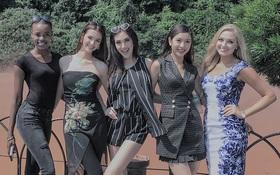 Thúy Vân rạng rỡ hội ngộ cùng Top 5 Hoa hậu Quốc tế tại Nhật