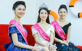 Tân Hoa hậu và 2 Á hậu tiết lộ mẫu bạn trai, phủ nhận tin đồn đại gia theo đuổi