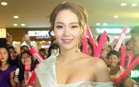 Minh Hằng xinh đẹp, khéo khoe vòng một gợi cảm khi ra mắt phim điện ảnh mới