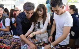 Phiên chợ cuối tuần: Địa điểm giải trí mới cho giới trẻ