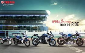 """Minh Hằng, Trọng Hiếu sẽ """"rực cháy"""" cùng Yamaha tại Triển lãm xe máy Việt Nam 2016"""