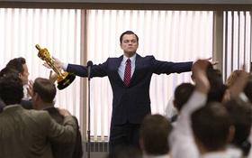 """MXH """"ngập lụt"""" ảnh chế Leo: Tượng vàng Oscar - Lần này là anh cầm thật đấy nhé!"""