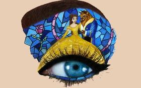 Chiêm ngưỡng những bức tranh hoạt hình tỉ mỉ trên bầu mắt