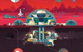 Đây sẽ là căn cứ của loài người trong nhiệm vụ thám hiểm sao Hỏa sắp tới