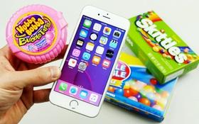 Tròn mắt với màn mang iPhone 6s đi... nấu kẹo