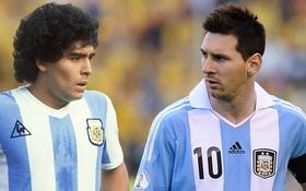 Messi chưa đủ tầm để sánh với Maradona và Di Stefano