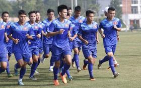 Cầu thủ HAGL bị đuối khi tập cùng các cầu thủ U19 Việt Nam