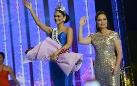 Hoa hậu Hoàn vũ 2015 Pia được đăng quang lần hai khi về nước