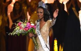 Cận cảnh nhan sắc cô gái da màu 26 tuổi vừa đăng quang Hoa hậu Mỹ 2016