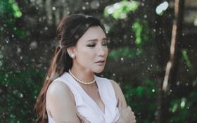 Hồ Quỳnh Hương dầm mưa Đà Lạt, nhập vai thương nhớ tình cũ trong MV nhạc xưa