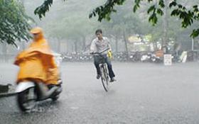 Ngày mai miền Bắc có mưa dông, chấm dứt nắng nóng