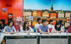 Học sinh Hà Nội thử tài tiếng Anh qua cuộc thi GLN New Face