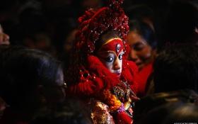 Nữ thần sống Nepal - tuổi thơ khác biệt của những bé gái tại Kathmandu