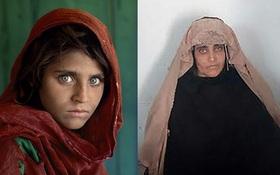 Cô gái Afghanistan trong bức ảnh nổi tiếng thế giới bị bắt vì dùng thẻ căn cước giả