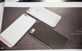 Lộ diện ốp lưng của iPhone 7 gắn vừa khít iPhone 6s