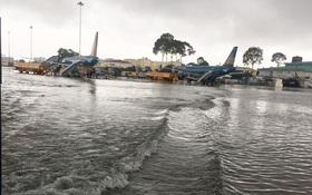 Lắp trạm bơm thoát nước cho sân bay Tân Sơn Nhất