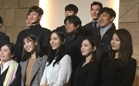 """Cặp sao """"Yêu Không Kiểm Soát"""" Suzy - Kim Woo Bin tái ngộ trong đám cưới đồng nghiệp"""
