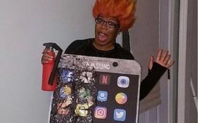9 bộ đồ Halloween lấy cảm hứng từ thảm họa Galaxy Note7, chỉ nhìn thôi là sợ chết khiếp