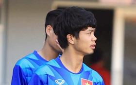 Công Phượng cắt tóc, cạo râu trước trận gặp Campuchia