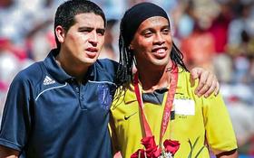 Ronaldinho, Riquelme cân nhắc đá miễn phí cho Chapecoense