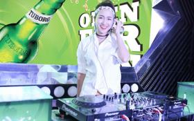 """DJ Trang Moon mở màn cực """"bốc"""" cho chuỗi sự kiện âm nhạc của Tuborg"""
