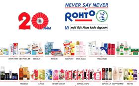 Rohto-Mentholatum (Việt Nam): 20 năm - Một chặng đường