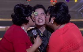 """Ngọc Sơn """"đau khổ"""" khi được 2 thí sinh nam """"cưỡng hôn"""""""