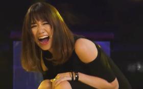 """Hari Won đã tìm ra cô gái hát """"Anh cứ đi đi"""" cực dở!"""