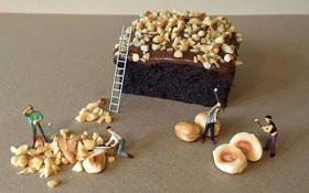 Thưởng thức những công trình bánh ngọt ngon tuyệt cú mèo do người tí hon xây dựng