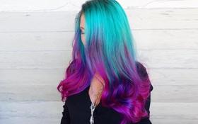 Dù bố mẹ không thích nhưng vẫn phải công nhận tóc nhuộm kiểu nàng tiên cá đẹp quá