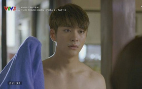 Linh (Nhã Phương) lại ngẩn ngơ trước Junsu (Kang Tae Oh) bán nude