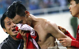 Phó thủ tướng Vũ Đức Đam động viên khiến đội tuyển Việt Nam rơi nước mắt