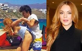 Lộ ảnh Lindsay Lohan bị hôn phu bạo hành, la mắng giữa bãi biển