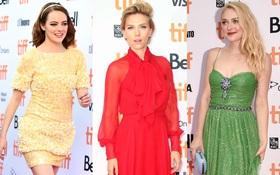 """Dàn siêu sao đẹp nhất Hollywood váy áo lộng lẫy """"thắp sáng"""" cả thảm đỏ LHP Toronto"""