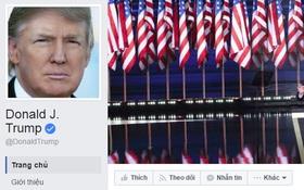 Đây là Facebook và Twitter chính thức của ông Donald Trump