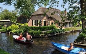 Ngẩn ngơ trước vẻ đẹp của Giethoorn, ngôi làng không lối đi tại Hà Lan