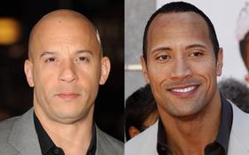 """Hollywood """"bùng nổ"""" trận cãi nhau mới giữa hai siêu sao phim """"Fast & Furious"""""""
