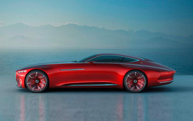 Mẫu siêu xe điện Mercedes sạc nhanh hơn cả điện thoại: 5 phút đi được 100km