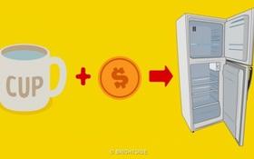 Đọc xong bài viết này, 99% người sẽ cho ngay một cốc nước và đồng xu vào tủ lạnh để xem kết quả