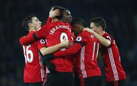 Ibrahimovic lập đại công giúp Man Utd thắng trận thứ 3 liên tiếp