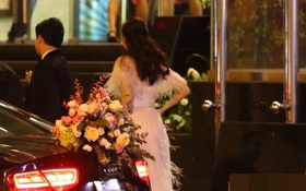 """Sau đám cưới cổ tích, Đặng Thu Thảo cùng ông xã Trung Tín """"tay trong tay"""" đi chơi với bạn bè"""
