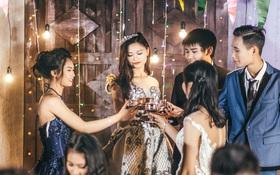 Độc nhất ở Thái Bình: Lớp học chi 40 triệu/đêm để hóa thân sang chảnh trong ảnh kỷ yếu phong cách dạ hội