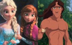 """Đạo diễn """"Frozen"""" xác nhận Tarzan là em trai của Elsa và Anna"""