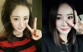 """Quá giống Dương Mịch, mẫu nữ Trung Quốc bị fan chỉ trích """"ăn theo"""" đàn chị"""